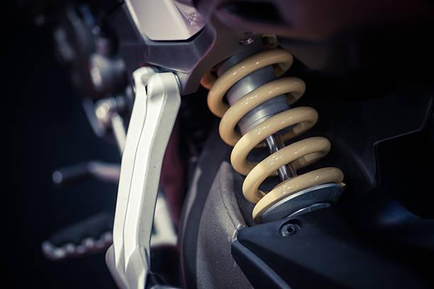 suspension de moto  - Photo