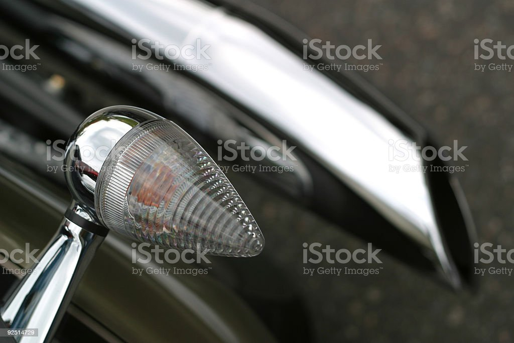 Motorcycle Tail Light royalty-free stock photo