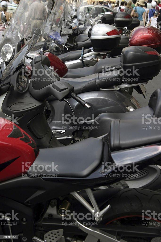 Motorräder Lizenzfreies stock-foto