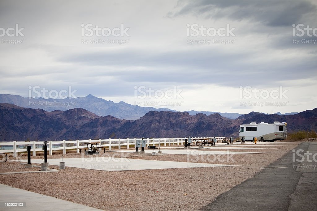 Motorhome stock photo