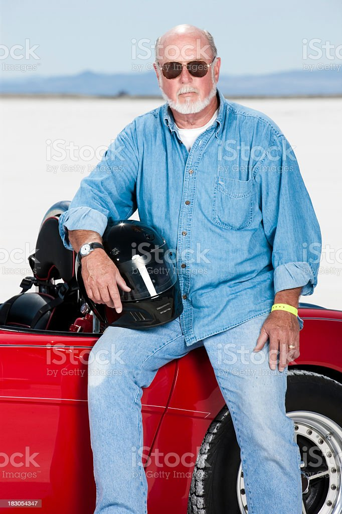 Motoring Enthusiast stock photo