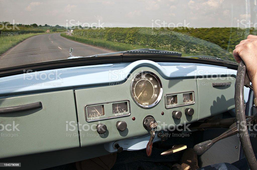 Motoring for pleasure stock photo