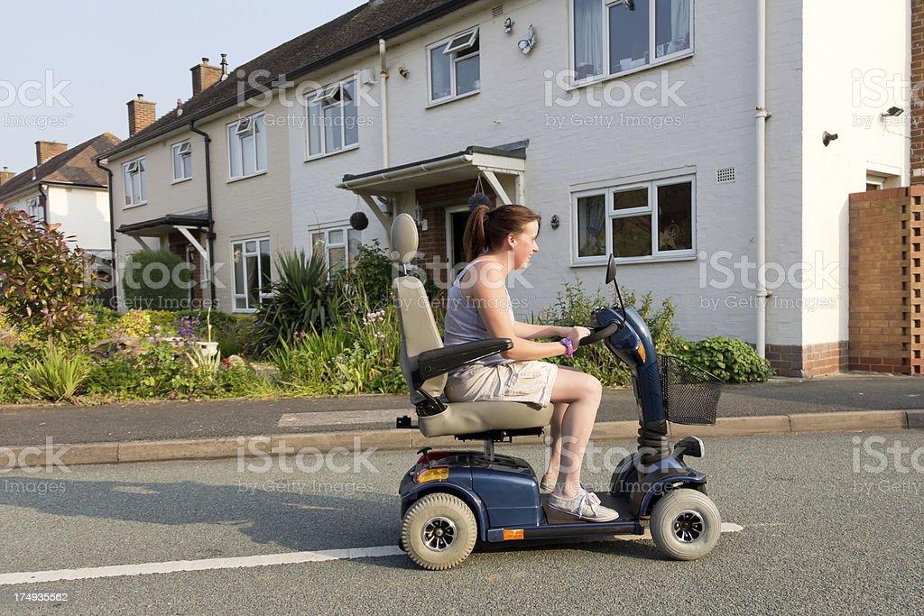 Motoring mobility stock photo