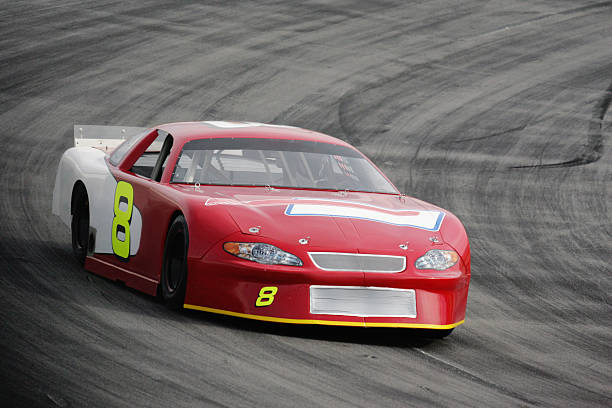 Motorsport-Rot Race Car – Foto