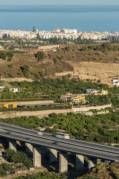 Cтоковое фото По автомагистрали Мост