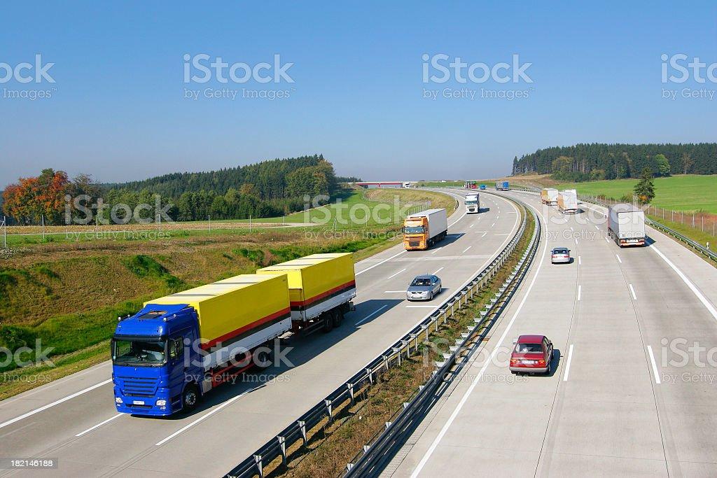Motorway II royalty-free stock photo