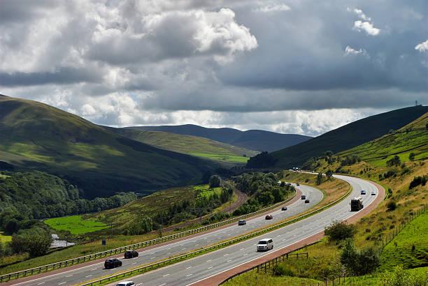 M6 Autobahn in Cumbria – Foto