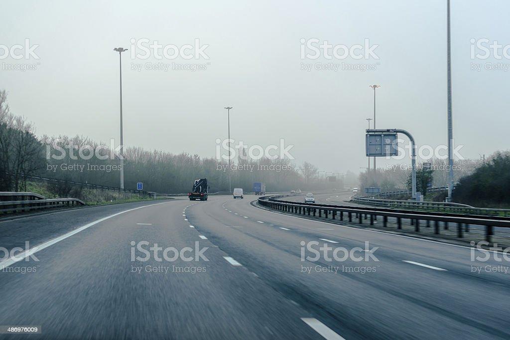 Motorway stock photo