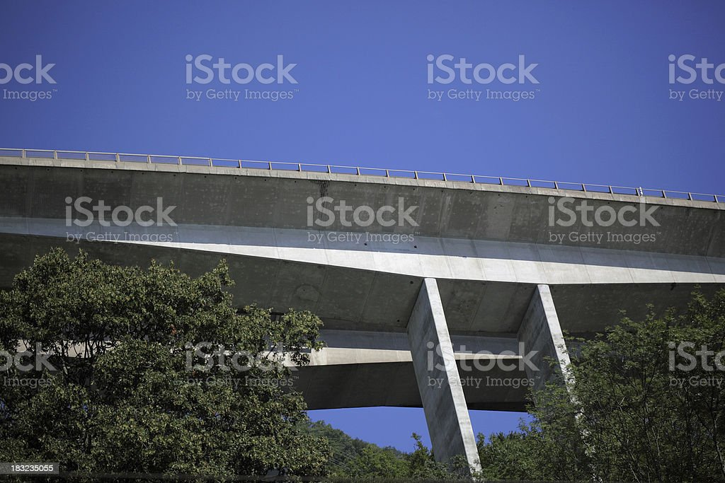 Motorway up high royalty-free stock photo