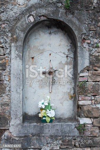 istock Motovun city, Croatia, monument 1309324320