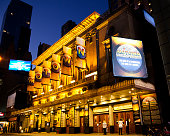 New York, NY, USA - October 25, 2014: Motown: Broadway musical \
