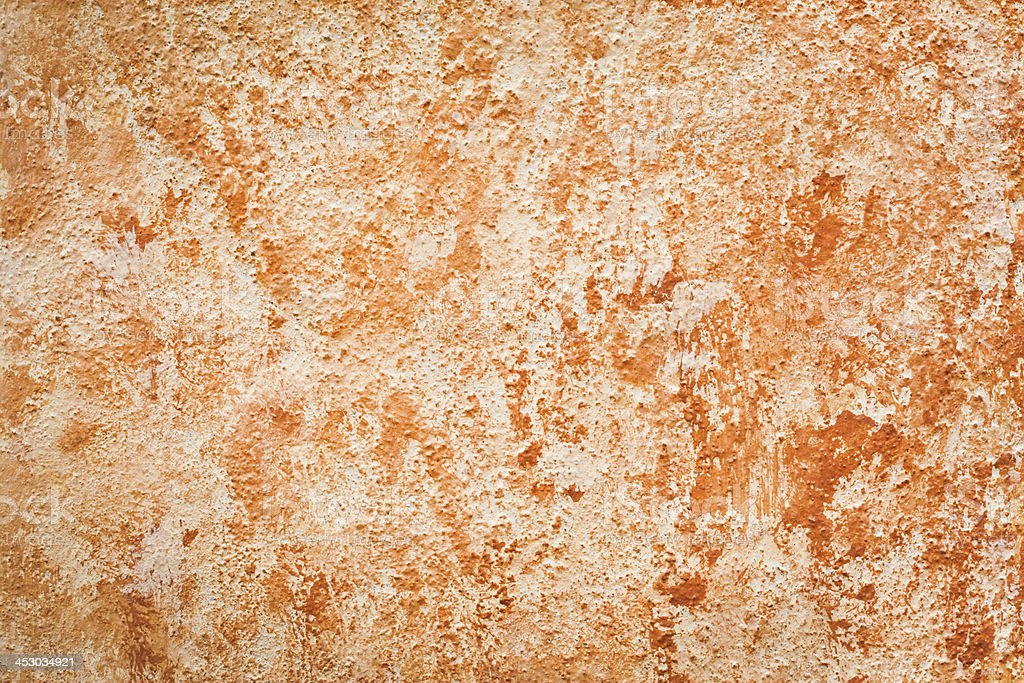 Mottled Pink Orange Wall Texture royalty-free stock photo