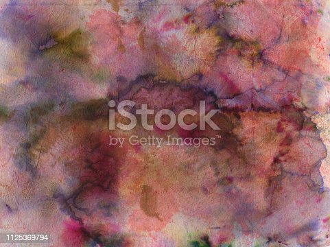 istock Mottled texture background with shades of pink 1125369794