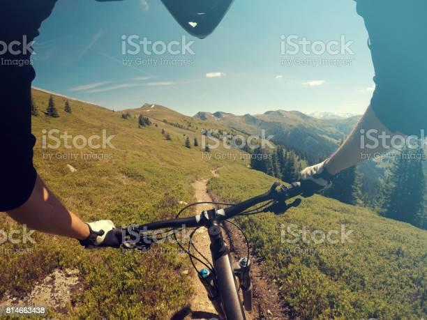 Photo of Mouintain bike trail in Saalbach Hinterglemm