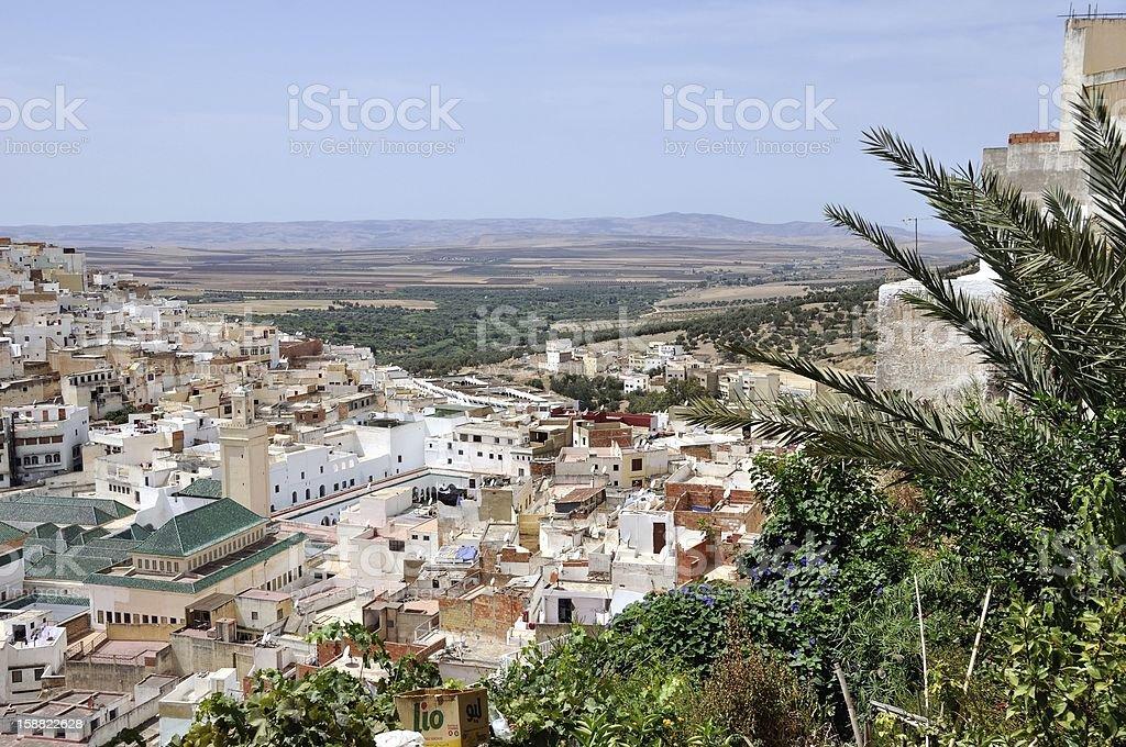 Moulay Idriss, Morocco stock photo