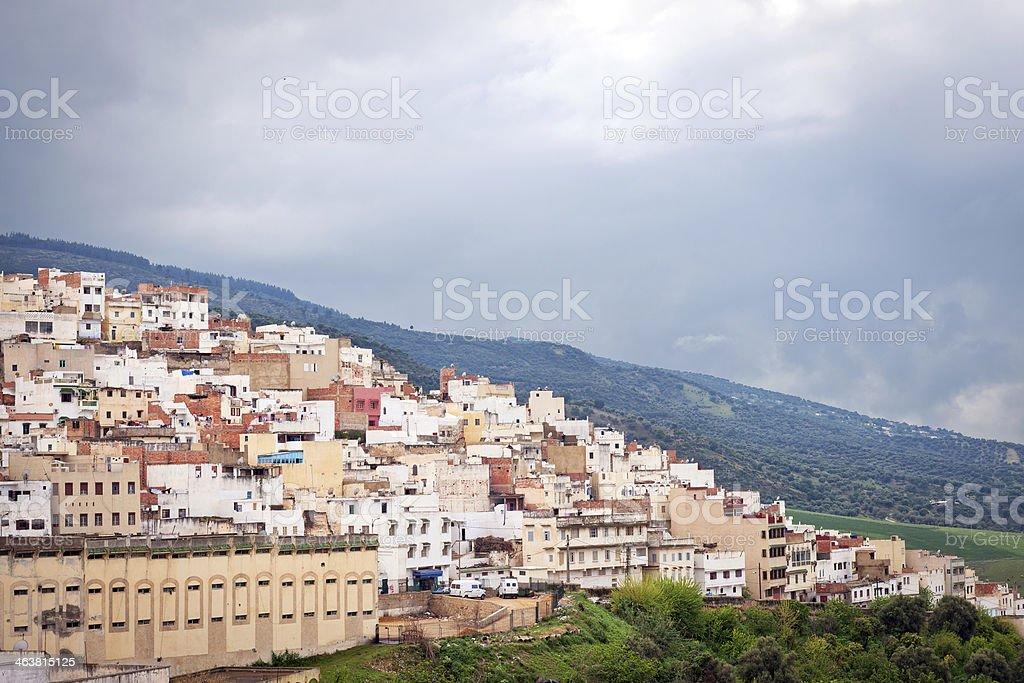 Moulay Idriss Zerhoun, Morocco, Africa stock photo