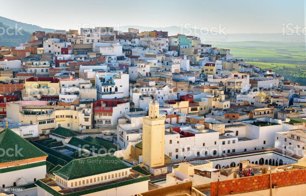 Moulay Idriss Zerhoun, Morocco stock photo