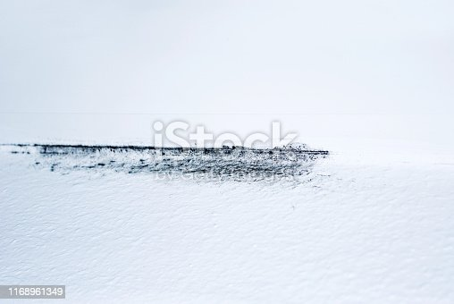 656168432 istock photo Mould colony growing on a house corner wall 1168961349