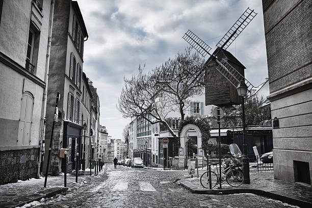 Le Moulin de la Galette à Montmartre, Paris, France - Photo