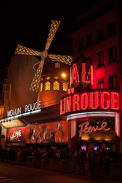 Moulin Rouge Paris stock photo