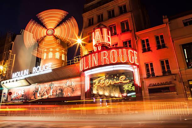 moulin rouge - montmatre utsikt bildbanksfoton och bilder