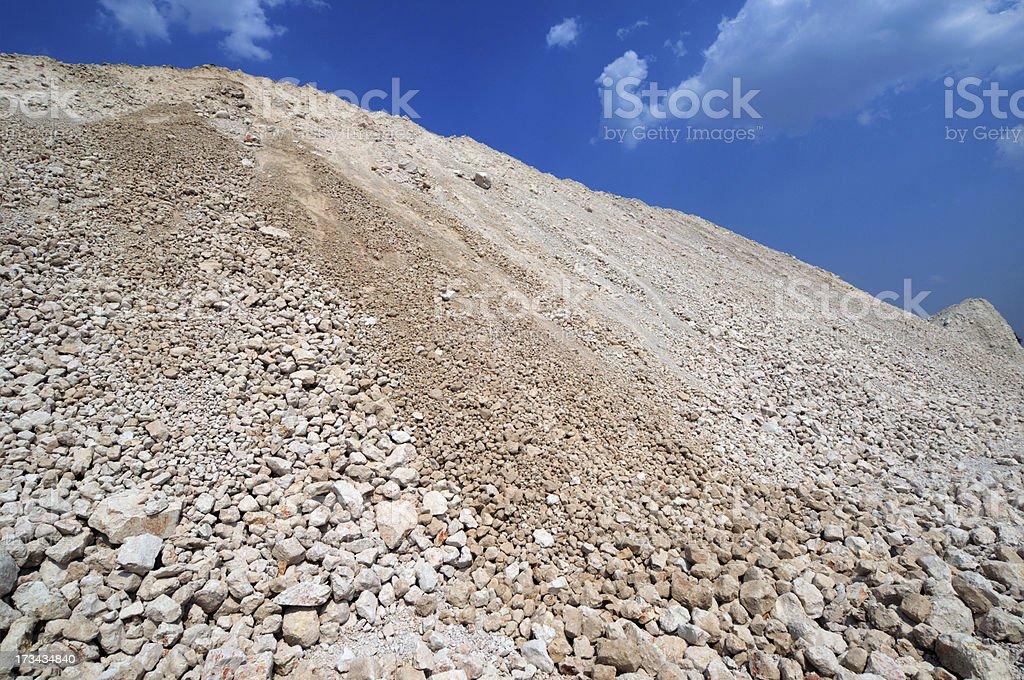 mound of clay stock photo
