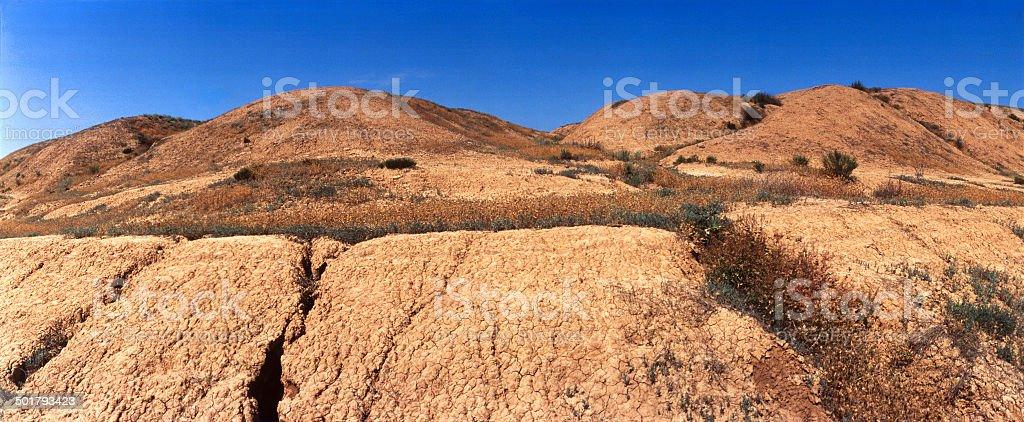 Mound of natural origin royalty-free stock photo