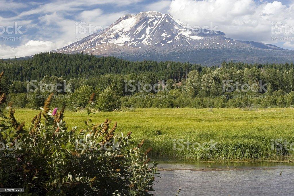 Mount Adams royalty-free stock photo