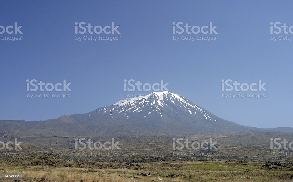 Mount Agri stock photo