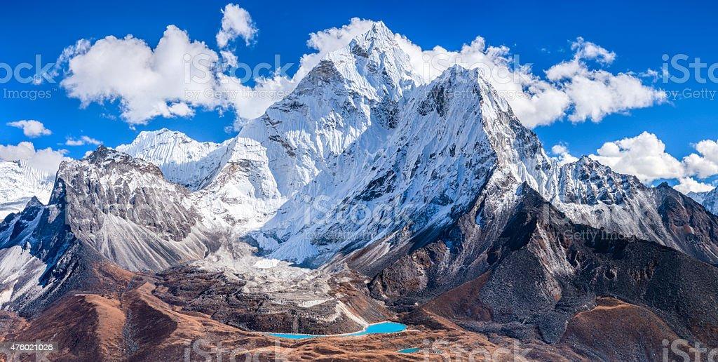 Mount Ama Dablam - Himalaya Range stock photo