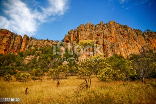 Mount Arapiles is rock formation in plains of western Victoria, Australia. Arapiles is a very popular destination for rock climbers due to the quantity and quality of climbs.