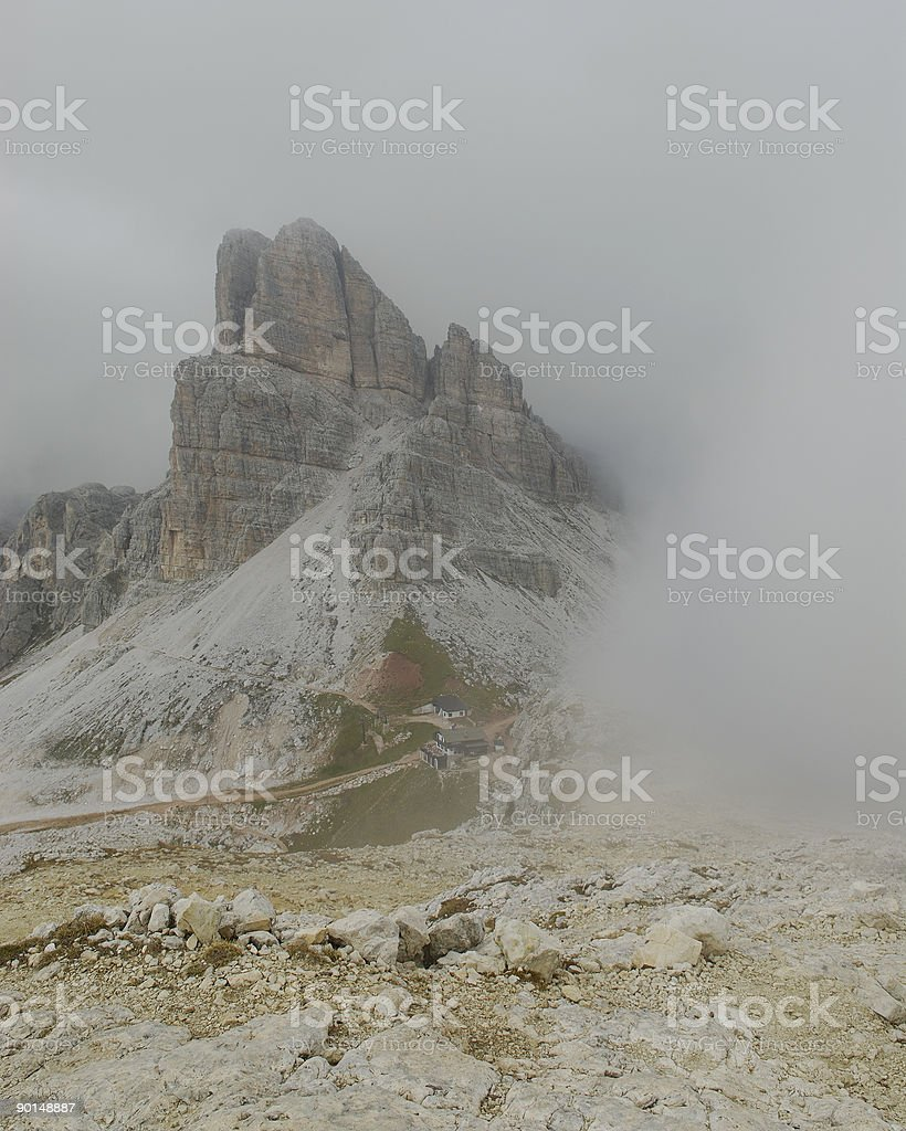 Mount Averau (Dolomites) royalty-free stock photo