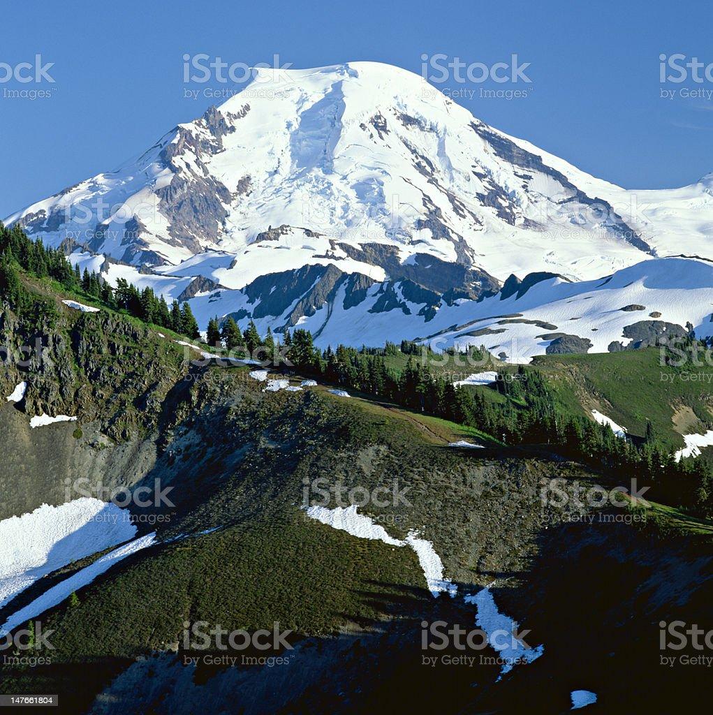 Mount Baker stock photo