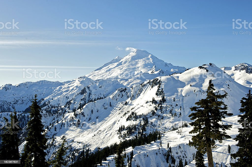 Mount Baker royalty-free stock photo