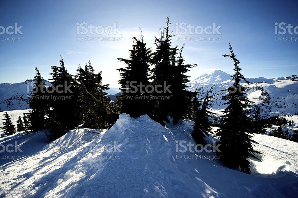 Mount Baker royalty-free stock photo