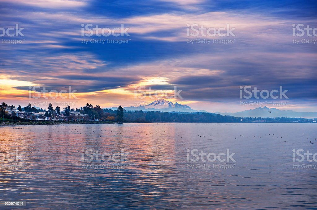 Mount Baker stock photo