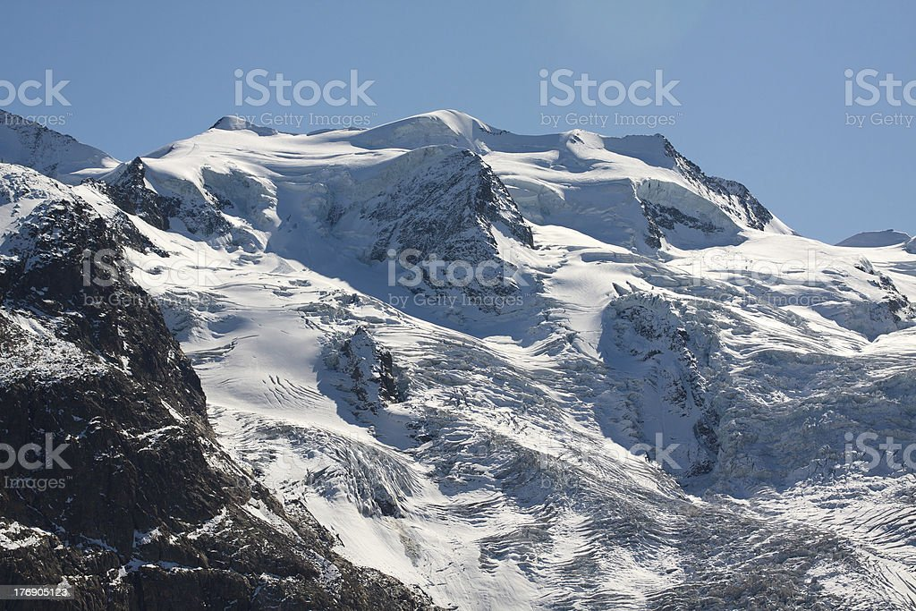Monte Bellavista - Val Morteratsch royalty-free stock photo