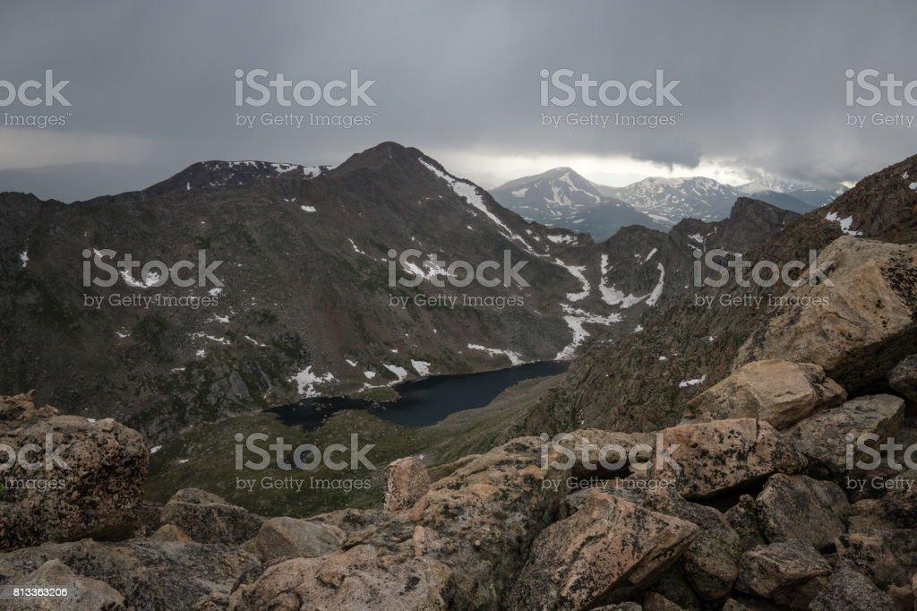 Mount Bierstadt - Colorado stock photo