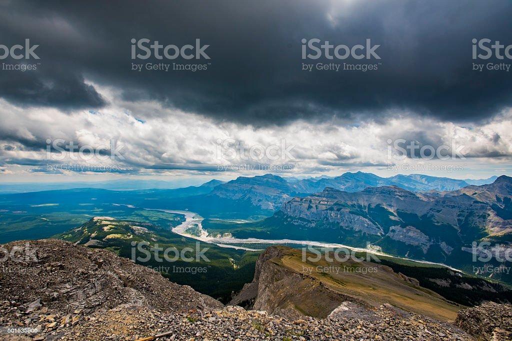 Mount Black Rock stock photo