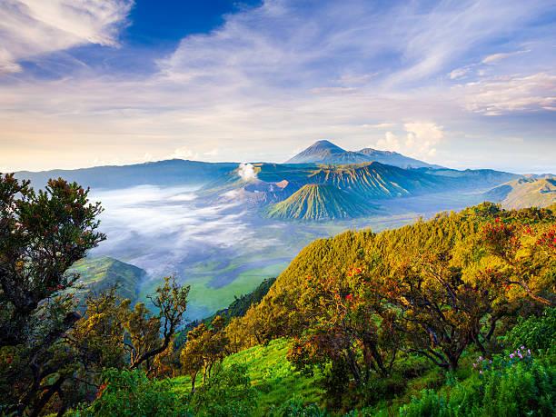 Vulkan Mount Bromo, Ost-Java, Indonesien, Surabuya – Foto