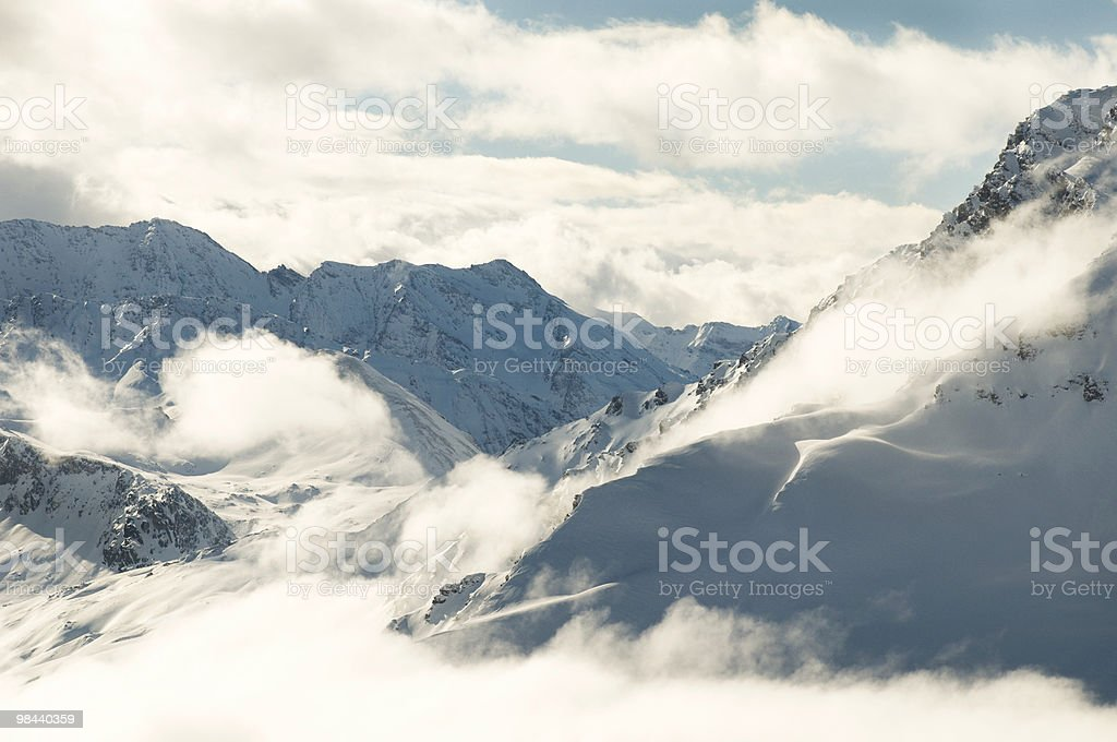 Mont Cenis stock photo