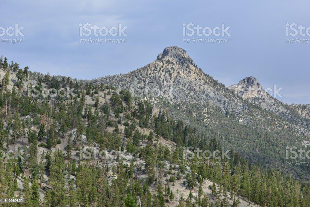 Mount Charleston in Nevada in Fall. stock photo