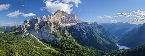 Mount Civetta Panorama (Dolomiten, Italien – Foto