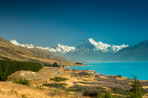 Mount Cook National Park New Zealand Stock Photo - Download Image Now