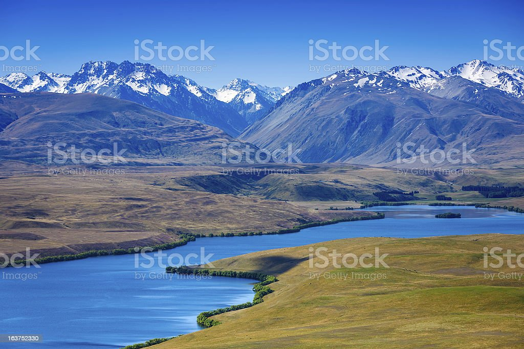 Mount Cook National Park royalty-free stock photo