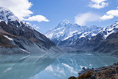 istock Mount Cook reflection in  lake Hooker, Southern Alps,  New Zealand 1197192136