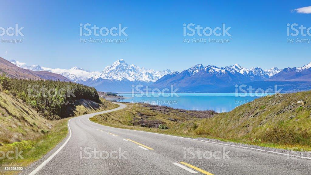 Mount Cook Road Trip Lake Pukaki New Zealand