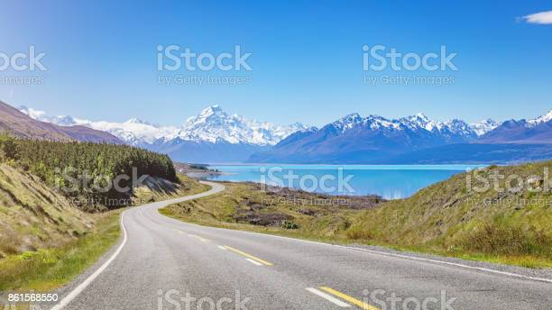 Photo of Mount Cook Road Trip Lake Pukaki New Zealand