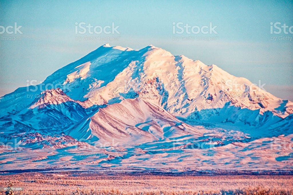 Mount Drum, Alaska stock photo