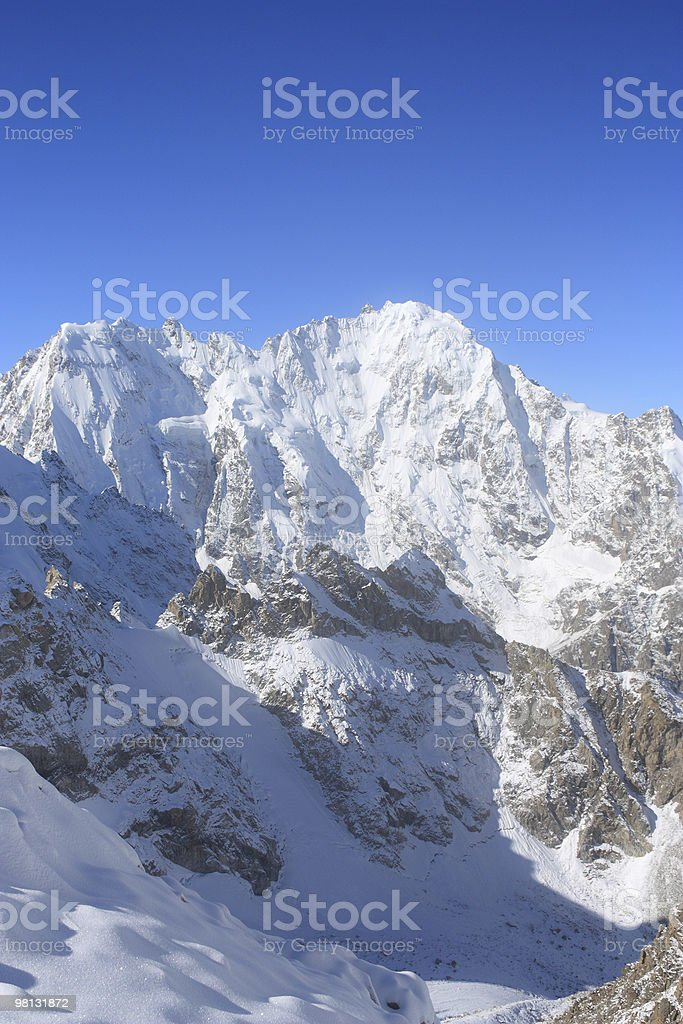 Monte Dykh LCS foto stock royalty-free